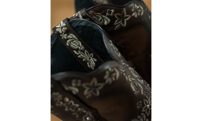226f2d4f308 Black Star SWEETGRASS (Brown/Cream) Women's Cowboy Boots | Groupon