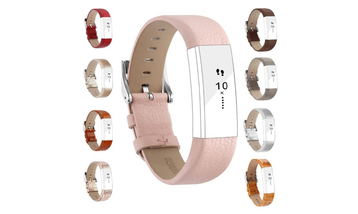 For Fitbit Alta HR/Alta Bands, Genuine Leather Replacement