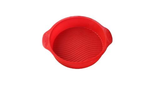 Round Silicone Cupcake Baking Mold Muffin Food Bakeware Maker 3422b7d8-2da8-45d1-bd04-354a2730afc1