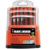 Black & Decker 15097 Drill Bit Set 17 Piece
