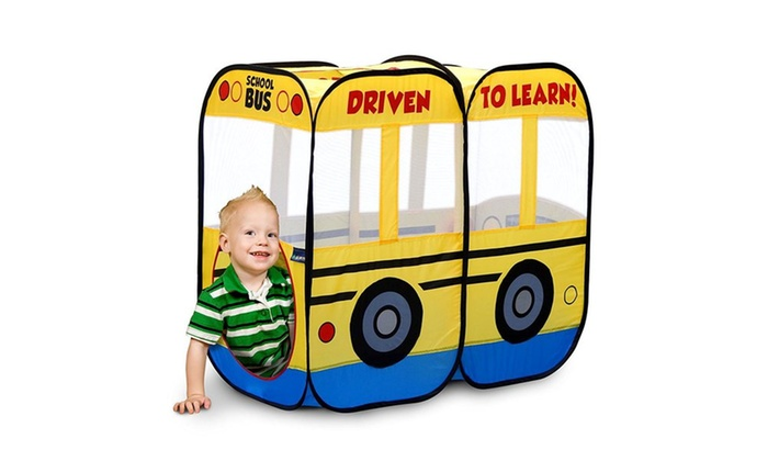 My First School Bus Kidsu0027 Play Tent My First School Bus Kidsu0027 Play ...  sc 1 st  Groupon & Up To 48% Off on My First School Bus Play Tent | Groupon Goods