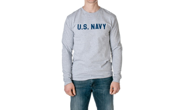 US Navy Official Long Sleeve Tee M32411506