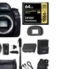 Canon EOS 5D Mark IV (Body Only), Battery Grip BG-E20 + Monopd & 64GB