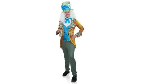 Leg Avenue Men's Classic Costume Alice Wonderland Halloween Costume