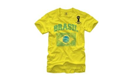 FIFA 2014 World Cup Soccer - Brasil - T-Shirt 61c932ee-a960-4635-a8bc-b6a040e532b7