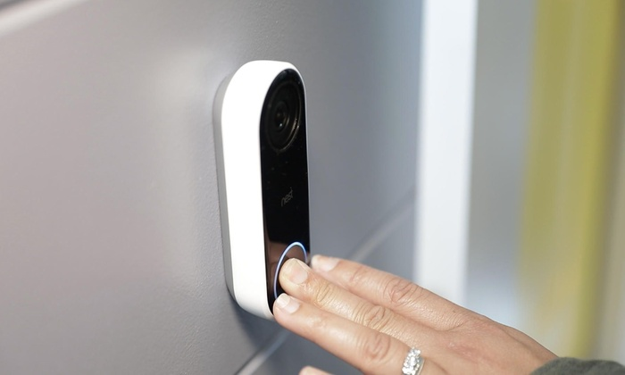Nest - Hello Smart Wi-Fi Video Doorbell | Groupon