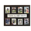 """NCAA Football 12""""x15"""" Clemson Tigers All-Time Greats Plaque"""