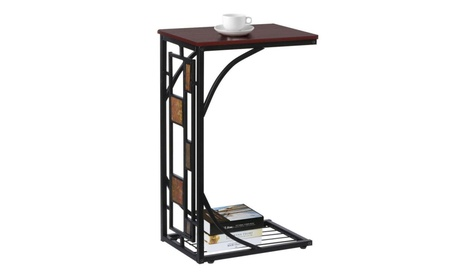 Modern Living Room Sofa Side Table Coffee Tables with Storage Shelf 98987d80-c170-489d-a5f3-474aeffaa224