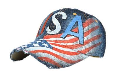 American Flag Baseball Unisex Cowboy Hat 920e6ae2-f7f3-477e-96dc-aebeedd5a3a3