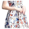 Women's Casual Casual Cami Empire Waist Printed Dresses