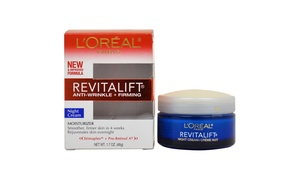 L'Oreal Paris Revitalift Anti-Wrinkle Night Cream (1.7 Oz.)