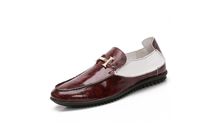 The new men's casual shoes Peas shoes Brown