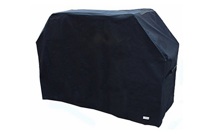 Heavy-Duty Waterproof BBQ Gas Grill Cover with Storage Bag photo