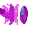 20 Speeds Wireless Romote Control silicone Butterfly Dildo Vibrator