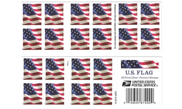 Up To 33% Off on USPS US Flag 2017 Forever Sta    | Groupon Goods