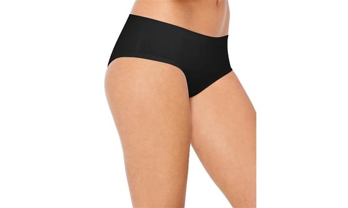 b9ef49aa6757 Hanes 41ST Black & White & Stripe Assorted Ultimate Smooth Tec Womens  Hipster 9 Multi-color