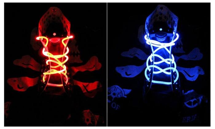 LED Flash Luminous Shoelace Shoe