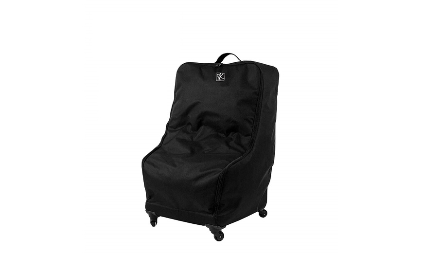 Up To 48 Off On J L Childress Spinner, Jl Childress Spinner Wheelie Deluxe Car Seat Travel Bag