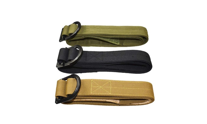 Tactical Belt Thicken Nylon Adjust Metal Buckle Militar Combat Belt