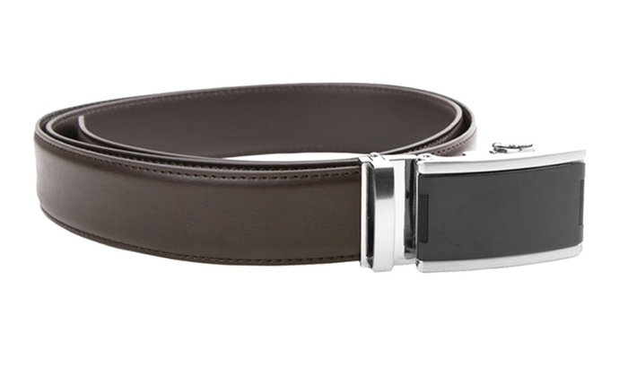 20367a8aee40 Up To 14% Off on Men's Leather Golf Belt | Groupon Goods