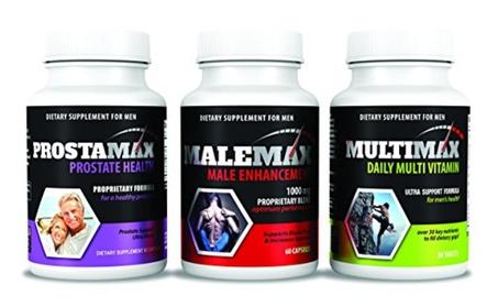 Ultimate Mens Health Pack Malemax Prostamax Multimax 4d2f923d-3e79-4812-88ab-37edff8f334e