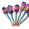 6pcs High Quality Rose Makeup Brushes Set Beauty Cosmetic Tool Gift