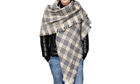 Ultra-Soft Convertible Pashmina Shawl Scarf b55aa5db-1617-478a-99ec-e7f777544e03