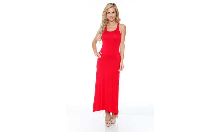 Red Must Have Maxi Dress