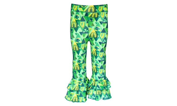 4e7d7c95eb93 Girls 2 Piece Little Miss Lucky St Patrick's Day Outfit | Groupon