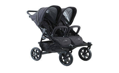 Valco Tri Mode Duo X Double Stroller - Night 138a694c-d215-40dd-9ee2-f5a61f7f6d61