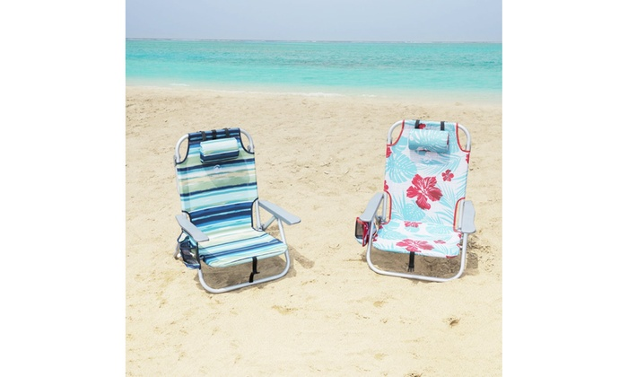 Swell Up To 25 Off On Alpha Camp Folding Beach Chai Groupon Beatyapartments Chair Design Images Beatyapartmentscom