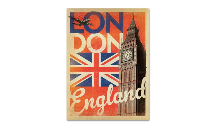 Anderson design group 39 london england ii 39 canvas art for London design group