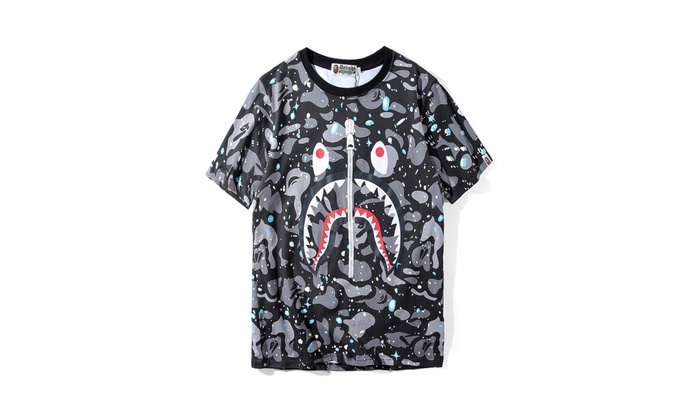 0266eecae A Bathing Ape Space Camo BAPE T-shirt   Groupon