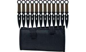 Whetstone Cutlery S-Force Kunai Knives (Set-of-12)