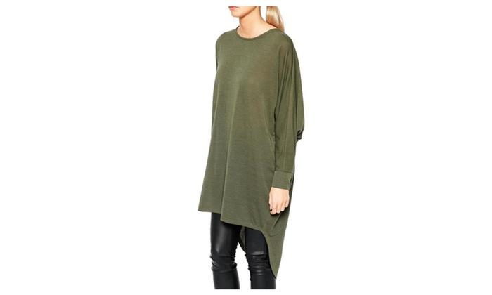 Women's Casual Fashion New Arrival Irregular Tee Shirt