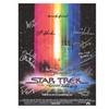 Star Trek Autographed Movie Poster
