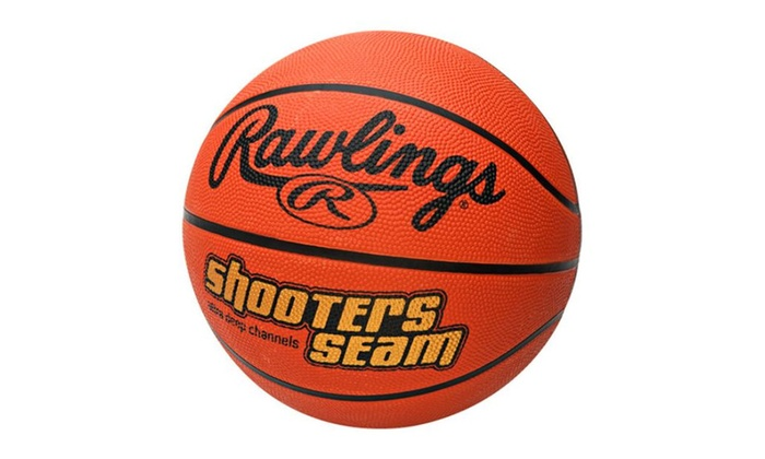 Rawlings Ssuj1 Shooters Seam Basketball, 27.5″