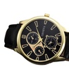 PU Leather Strap Analog Wrist Watch for Men