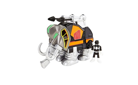 Fisher-Price Imaginext Power Rangers Black Ranger And Mastadon 96932260-bb1c-4bea-ae8a-35e83fbfaf41