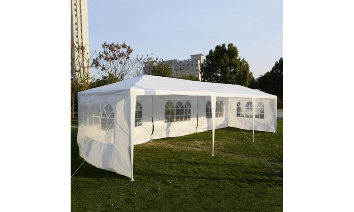 White Outdoor Gazebo Canopy Tent