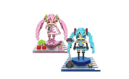 Figure Toy 3D Model Hatsune Miku Assembly Toys Diamond Building Blocks 9c825391-0d2c-4fea-a46c-ec3a27f935c7