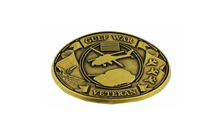USA Commemorative Gulf War Military Belt Buckle