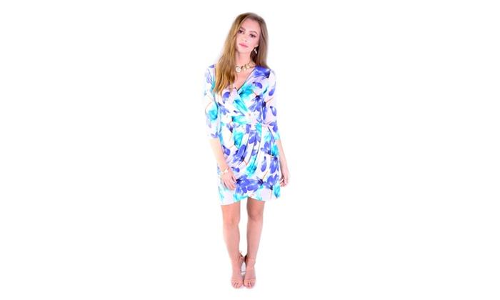 Xehar Women's Kelly Floral Print Dress