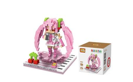 LOZ iBLOCK FUN Anime Sakura Hatsune Miku Figure Diamond Mini Building 7226141b-68aa-461a-b92f-cc11764f21d8