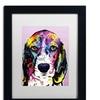 Dean Russo '4 Beagle' Matted Black Framed Art