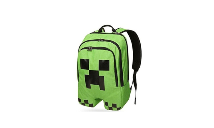 Minecraft ThinkGeek Licensed Minecraft Creeper Backpack  f449a9c7c99c2
