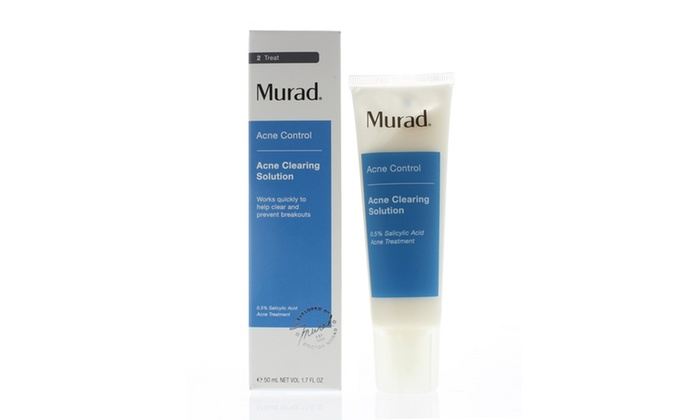 Murad Acne Clearing Solution Acne Control Ml 1 7oz