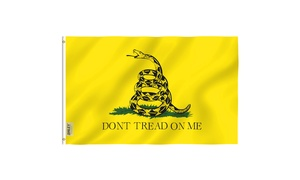ANLEY Fly Breeze Series 3x5 DontTread/MolonLabe Foot Flag - Historical Flags