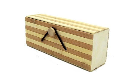 Fashion creative high - grade bamboo handmade glasses box dae9e8a6-762f-4385-bbf8-dce181b5d3d7