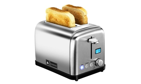 2 Slice Toaster Two Slice Bagel Toaster with 6 Bread Shade Settings c030b1e2-66b4-4c76-b947-a2e3c9b26d38